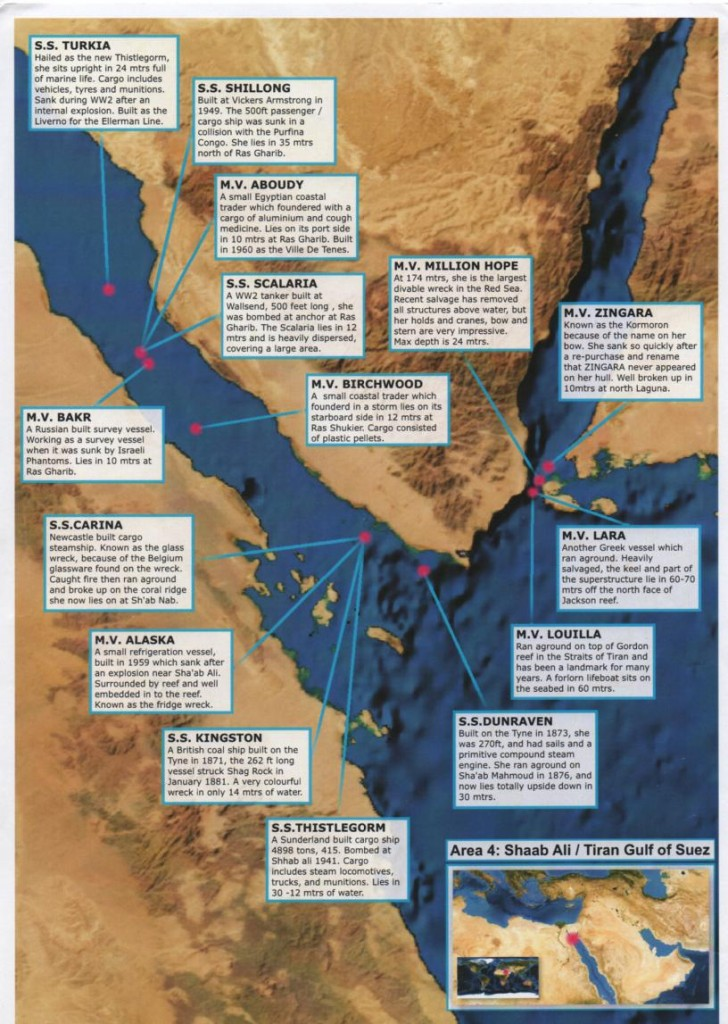 area 4  the Gulf of Suez
